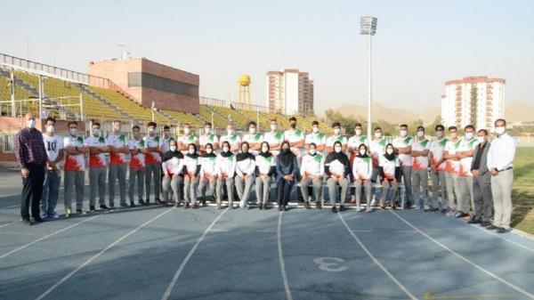 درخشش دوندگان جوان در مسابقات قهرمانی آسیای میانه